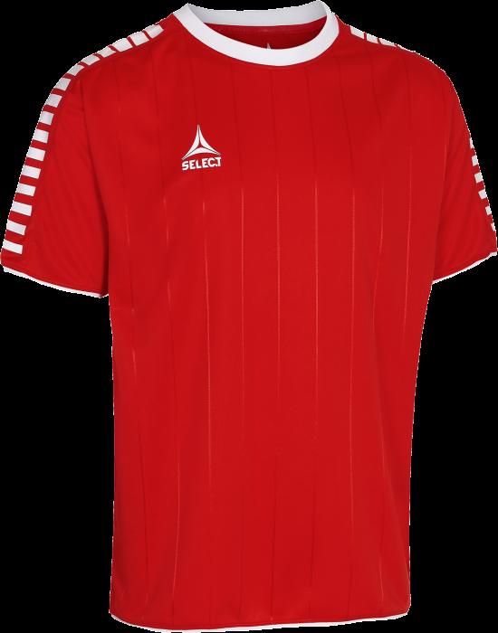 65d8224e04a Select Argentina Spillertrøje › Rød & hvid (22021456700) › 12 Farver ...