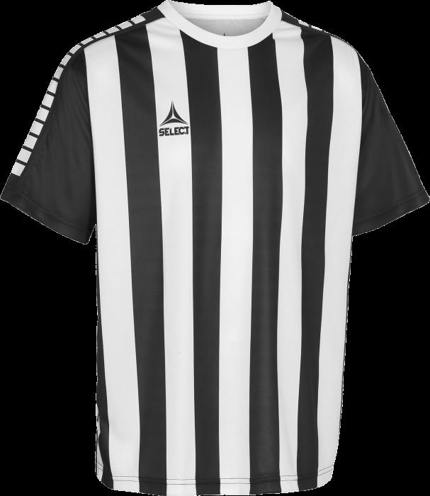 86c8e1530aa Select Argentina Stribet Spillertrøje › Sort & hvid (22021467300 ...