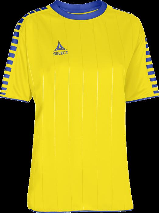 d1479f08103 Select Argentina Spillertrøje Dame › Gul & blå (600027) › 8 Farver ...
