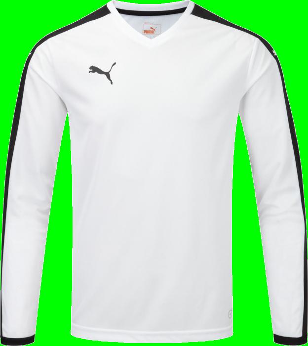 eb10d8027838 Puma Pitch Longsleeved Shirt › White   black (702088) › 13 Colors ...