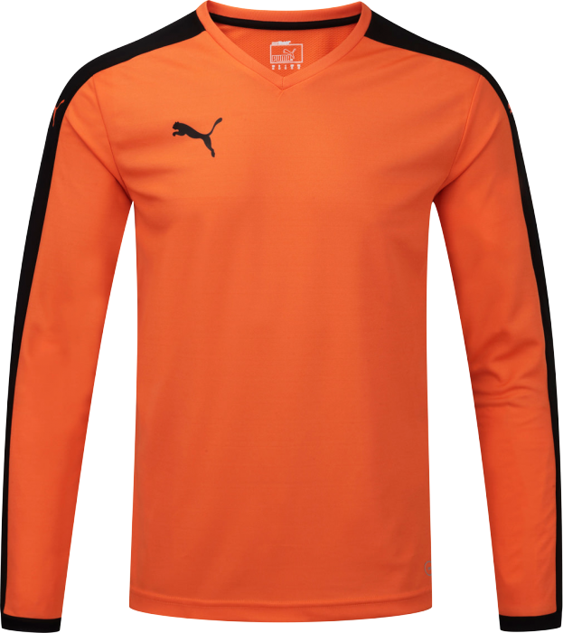 7f0386f03f3 Puma Pitch Langærmet Tee › Orange & sort (702088) › 13 Farver