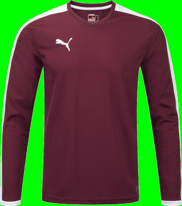 b4bc165158c8 Puma Pitch Longsleeved Shirt › Wine red   white (702088) › 13 Colors ...