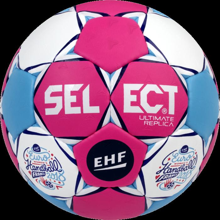 Rørig Select Ultimate Replica Håndbold - Euro 2018 France › Pink QM-41
