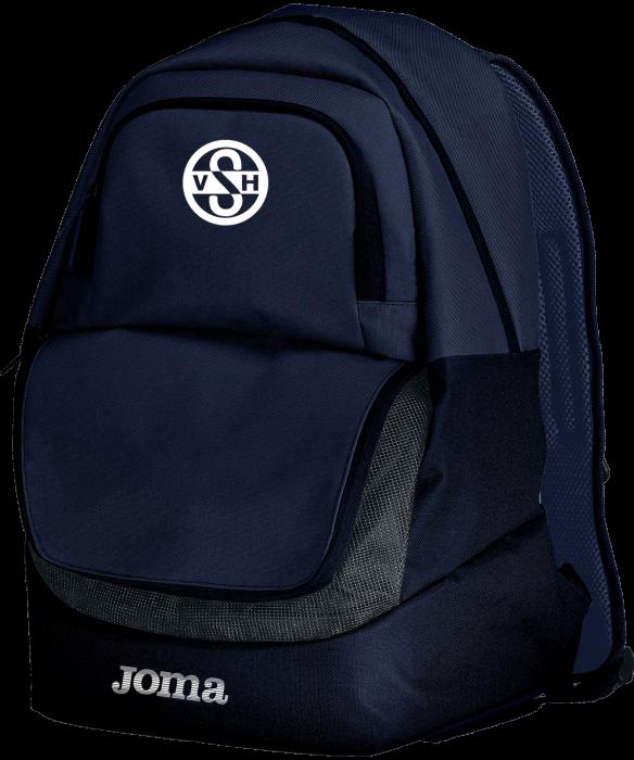 VSH tøj og udstyr - Joma Vsh Rygsæk Med God Plads › Navy blå & hvid (400235 navy) › Tasker
